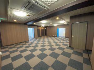 浜松支店 改装の為の解体(執務室)